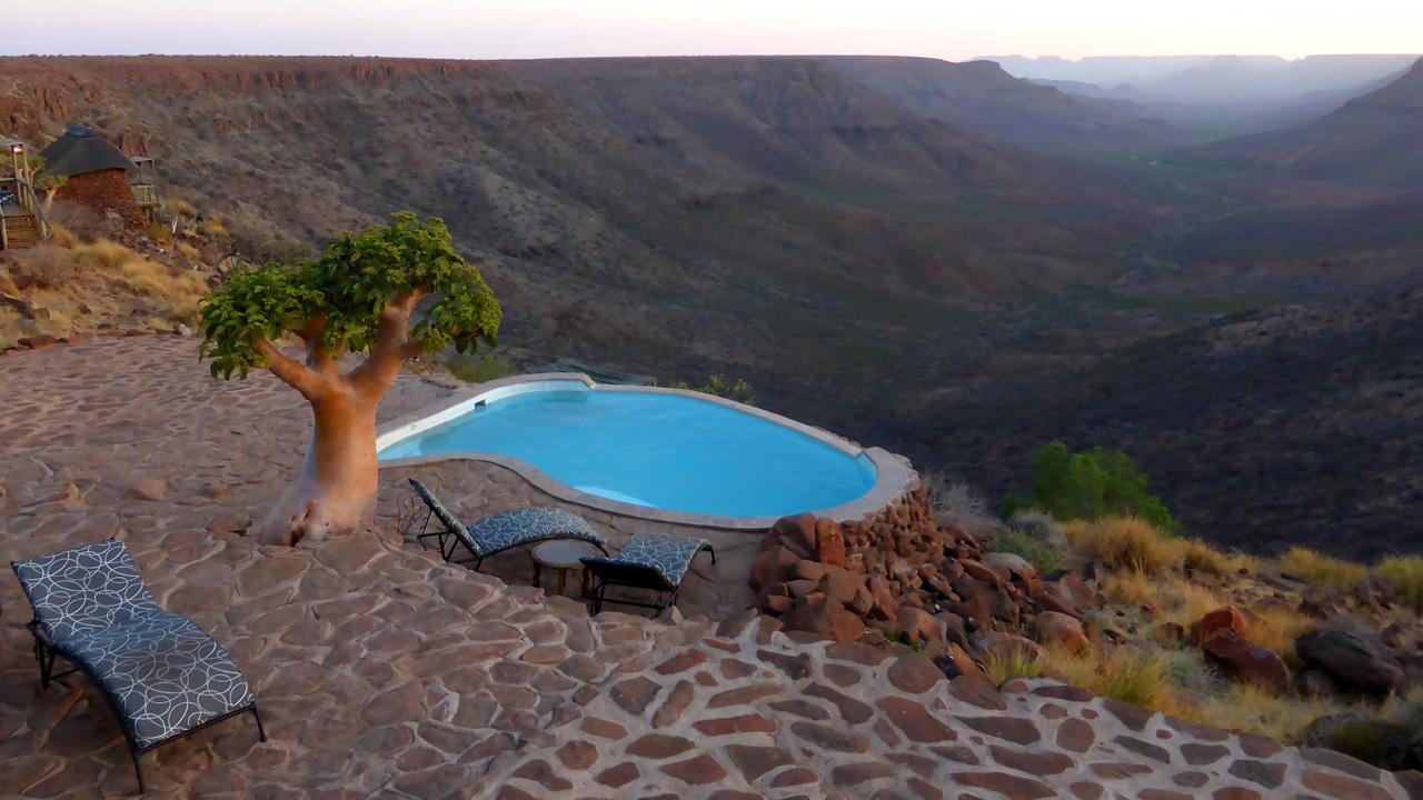 Grootberg Lodge mit African Feeling