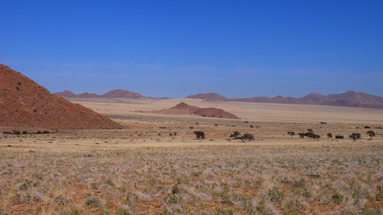 Die schillernden Sanddünen mit African Feeling