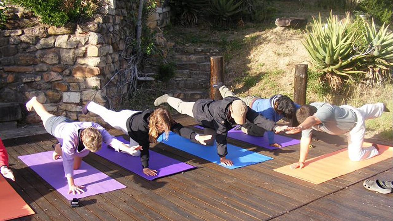 Yoga und Wandern mit African Feeling